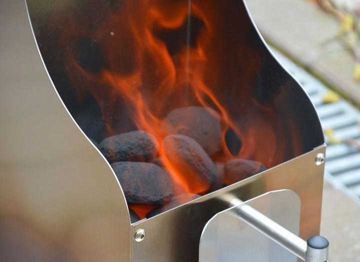 Grillpfanne Für Holzkohlegrill : Kaminanzünder aus edelstahl u cmartin weberu d bbq grillpfanne